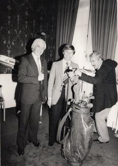 Jerry Stevens and Bernard Cribbens