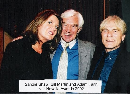 Sandie Shaw and Adam Faith