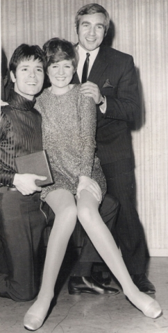CLIFF RICHARD and CILLA BLACK at Top Of The Pops