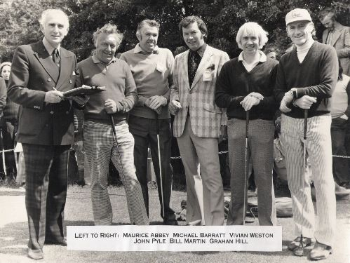 Michael Barratt and Graham Hill