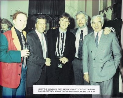 Mike Batt, Paul McCartney, Mitch Murray and Wayne Bickerton