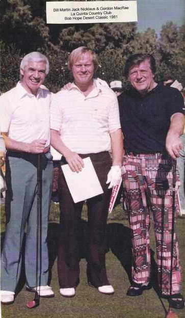 Jack Nicklaus and Gordon MacRae