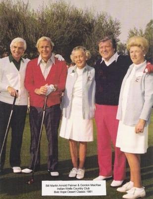 Arnold Palmer and Gordon MacRae