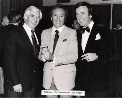 Vic Damone and Sir Terry Wogan